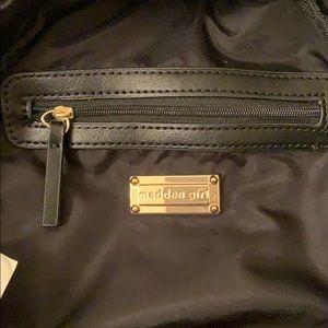 Madden Girl Bags - 🔳Worn Once! Black Velvet and Gold Mini Backpack🔳